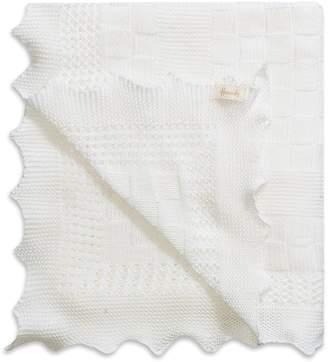 Harrods Interwoven Cotton Baby Shawl