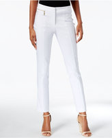 JM Collection Slim Leg Ankle Pants, Only at Macy's