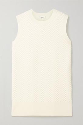 Jason Wu Jacquard-knit Sweater - Ecru
