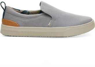 Toms Trvl Lite Womens Slip Ons Drizzle Grey - UK4