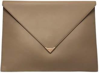 Alexander Wang Prisma Camel Leather Clutch bags