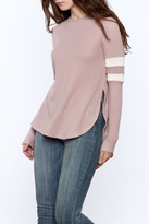 Cherish Mauve Thermal Top