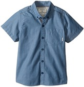 Quiksilver Everyday Wilsden Short Sleeve Woven Top Boy's Clothing