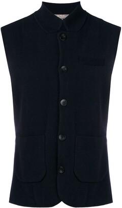 N.Peal Fine Knit Waistcoat
