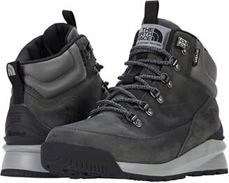 The North Face Back-to-Berkeley Mid Waterproof (Zinc Grey/TNF Black) Men's Shoes