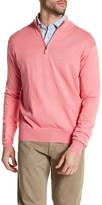 Peter Millar Regular Fit Quarter Zip Sweater