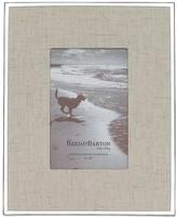 Reed & Barton Linen Frame, 4 x 6