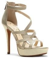 Jessica Simpson Suede Caged Sandals