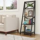 Lavish Home 4 Shelf Ladder Bookcase Lavish Home
