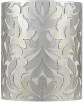 AF Lighting Soft Silver Glint Daydream Sconce