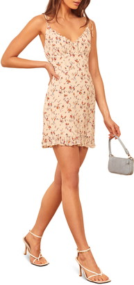 Reformation Esther Floral Ruffle Sundress