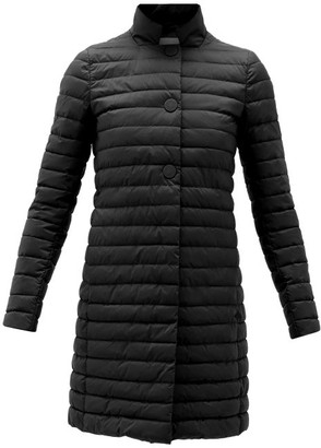 Herno Quilted Technical Jacket - Black