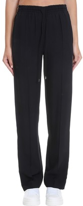 Chloé Pants In Black Synthetic Fibers