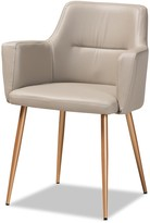 Baxton Studio Martine Glam and Luxe Dining Chair