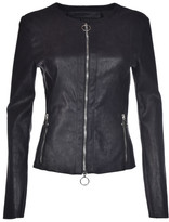 Drome Zipped Leather Jacket