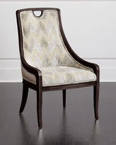 Massoud Belle Leather Side Chair