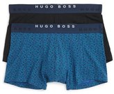 BOSS Stretch Cotton Boxer Briefs (Assorted 2-Pack)