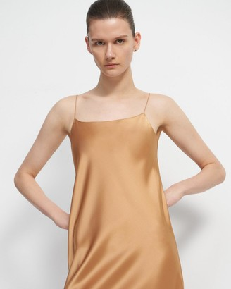 Theory Slip Dress in Sateen