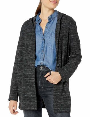 Lucky Brand Women's Hooded Button Jacket