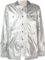 Rick Owens babel cargo pocket cotton shirt