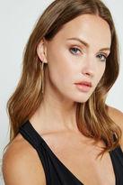 BCBGeneration Sleek Chain Earrings - Gold