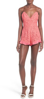 NBD Heaven on Earth Strappy Lace Romper