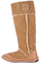 Tory Burch Moccasin Knee-High Boots