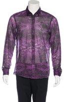 Gucci Printed Woven Shirt