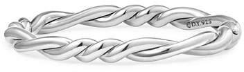 David Yurman 7mm Continuance Twisted Sterling Silver Bracelet