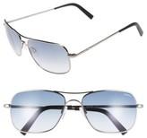 Randolph Engineering Men's 'Archer' 59Mm Sunglasses - Dark Ruthenium/ Blue Gradient