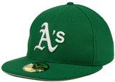 New Era Oakland Athletics St. Patty's Diamond Era 59FIFTY Cap