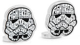 Star Wars STARWARS Storm Trooper Typography Cuff Links