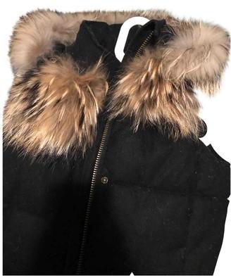 Bel Air Black Fox Leather Jacket for Women