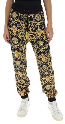 Versace Printed Drawstring Sweatpants