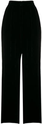 Erika Cavallini Oversized Velvet Trousers