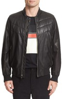 Rag & Bone Gallagher Leather Bomber Jacket
