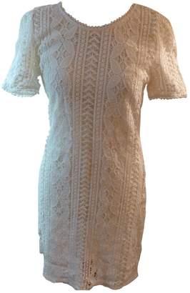 Darling \N White Cotton Dress for Women