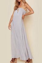 Indah Strapless Maxi Dress