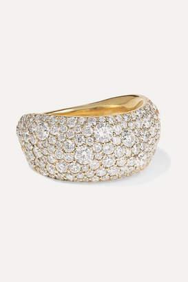 Ippolita Stardust 18-karat Gold Diamond Pinky Ring