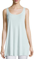 Eileen Fisher Long Silk Jersey Tunic