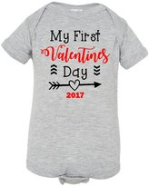 DC Tees N' Decals My First Valentines Day Infant Onesie