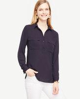 Ann Taylor Tall Camp Shirt
