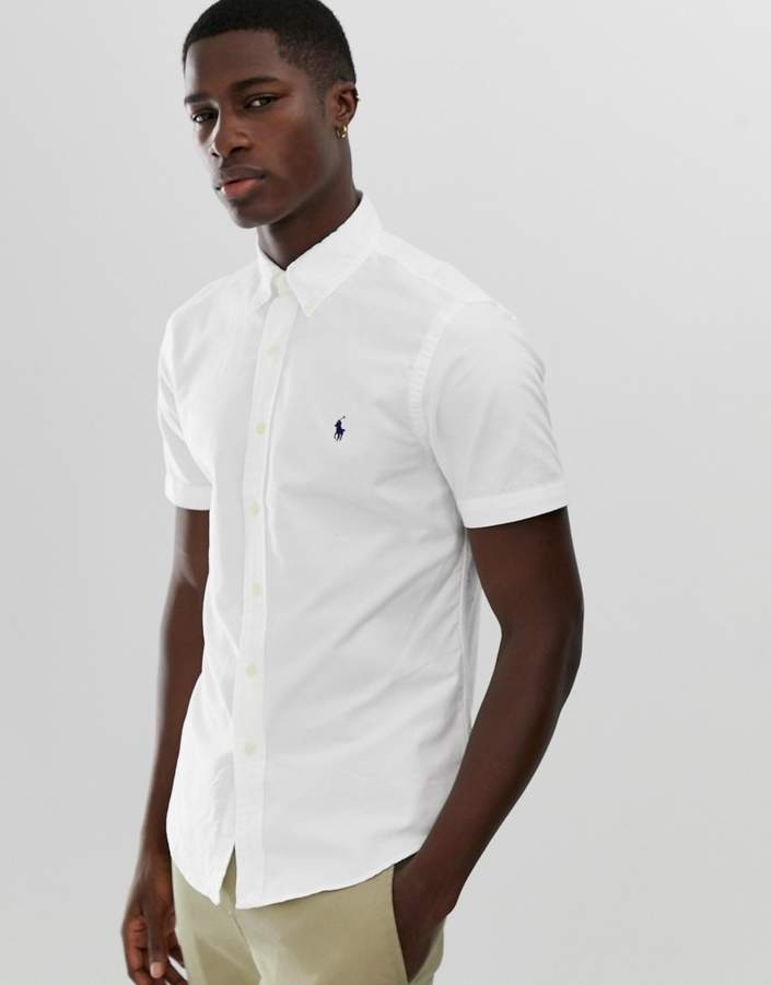 71f37de1f55b Mens White Shirt With Pin Collar - ShopStyle UK