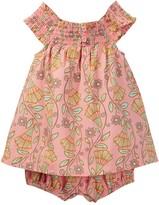 Tea Collection Vines Of Villas Smocked Romper (Baby Girls)