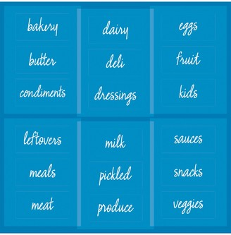 The Home Edit & iDesign Refrigerator Labels, Set of 18