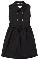 Burberry Navy Classic Trench Dress
