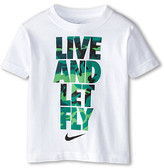Nike Live and Let Fly Short Sleeve Tee (Toddler)