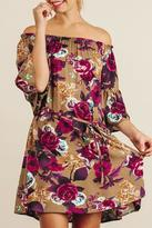 Umgee USA Flower Blossom Dress