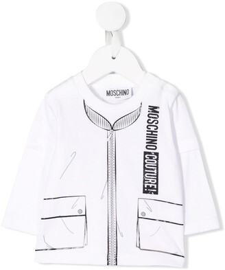Moschino Kids bomber jacket T-shirt
