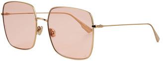 Christian Dior Diostellaire1 Square Metal Sunglasses